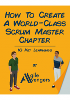 Creating A World-Class Scrum Master Chapters