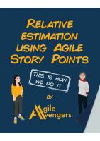 Relative Estimation Using Agile Story Points Activity