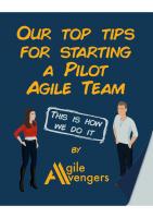 Start With A Pilot Agile Team